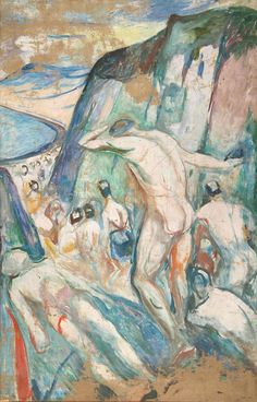 The human mountain » Munch's Ekely - The Storm: Right Part 1926–27 / Oil on canvas / 205 x 132 cm Munch Museum