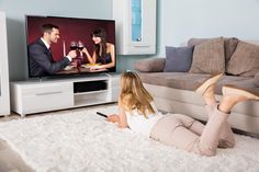 49-calowe telewizory się tak ogląda #49 #tv