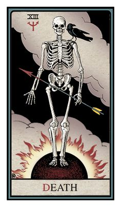 alchemical tarot death - Google Search