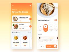 Food App Exploration designed by Moinul Ahsan for Devloon. Connect with them on Dribbble; Web Design, App Ui Design, Interface Design, Flat Design, Design Layouts, User Interface, Ui Design Mobile, Mobile Application Design, Design Responsive