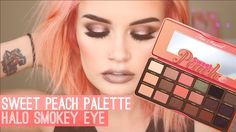 Too Faced Sweet Peach Eyeshadow Palette Tutorial Hey Guys! You've been requesting to see more makeup video's so today I have tutorial using the Too Faced Swe. Sweet Peach Palette Swatches, Peach Pallette, Peach Palette Looks, Peach Eyeshadow, Eyeshadow Looks, Eyeshadow Makeup, Younique Eyeshadow, Eyeshadow Palette, Makeup Younique