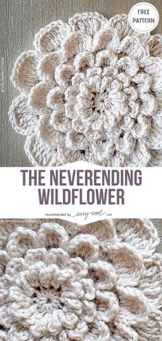 Free Crochet Flower Patterns | EASYWOOL