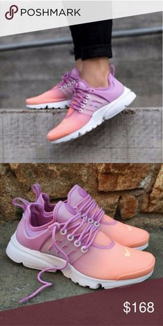 36de8ce94 Nike Presto Peach Pinkish Purple Ombre These are absolutely amazing.  Women s 8.5