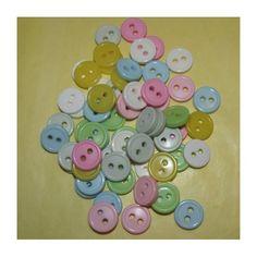 Pikkunapit värisekoitus (10kpl)  1,20 € / 10kpl