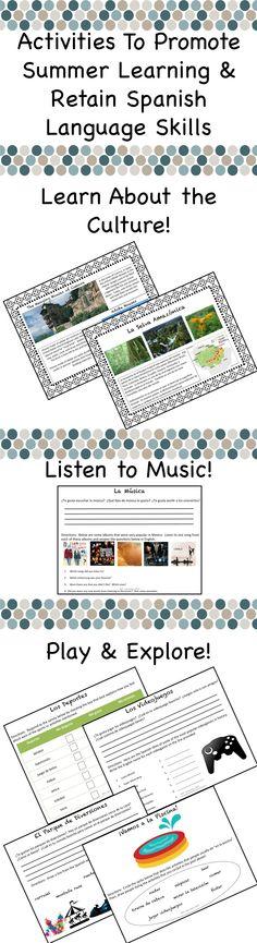 40 Span 4 Intro Ideas Intro Ap Spanish Ap Spanish Language