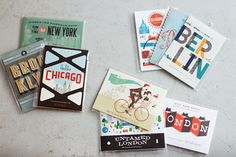 Herb Lester Associates publish city travel guides for tourists and locals: witty, pretty, curious and opinionated. Map Design, Travel Design, Cover Design, Graphic Design, Travel Books, Paper Plane, Invitation Paper, City Maps, Field Guide