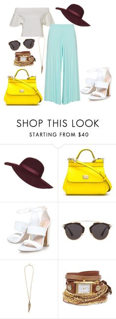 """70s hippie"" by soltys-dagmara on Polyvore featuring moda, Topshop, Dolce&Gabbana, Christian Dior, Roberto Cavalli, La Mer i Peter Luft"