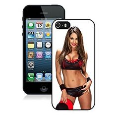 Amazon.com: iPhone 5 5S Wwe Superstars Collection Wwe 2K15 Nikki Bella 04 Black Shell Cover Case,Beautiful Cover: Cell Phones & Accessories