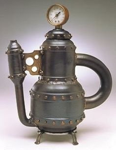 Boiler teapot by Rollie Younger