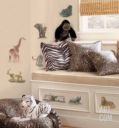 Safari Wall Decal at Art.com