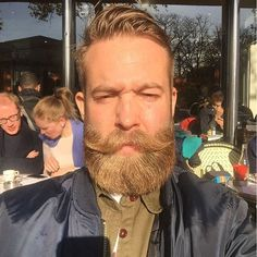Golden Imperial Beard Style