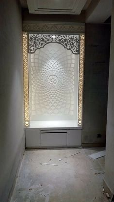 Mandir Car Bras For New Fashion Anytime you hit the road, your vehicle faces rocks, debris, bugs and Pooja Room Door Design, Ceiling Design Living Room, Bedroom False Ceiling Design, Bedroom Bed Design, Home Room Design, Temple Design For Home, Home Building Design, Mandir Design, Living Room Partition