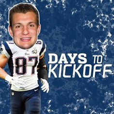 87 days to #Kickoff2015! #Gronk