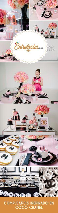 Si eres una mujer muy sofisticada que está en búsqueda de motivo para celebrar su cumpleaños; no dudes más, realiza una velada muy chic y elegante inspirada en el icono de la moda francesa de la década de 1920, Coco Chanel. Pon manos a la obra y toma en cuenta las propuestas que te aquí te presentamos.