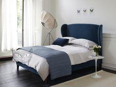 Łóżko Frou Frou stylizowane, wysokie wezgłowie materac 14 190 - Łóżka