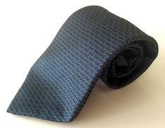 APT. 9 Neck Tie Blue White Geometric 100% Silk #Apt9 #NeckTie