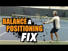 How to IMPROVE your Balance & Positioning - Tennis Lesson + Drills - YouTube