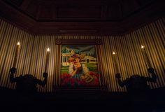 #Disneyland Paris. The Stretching Room in the Phantom Manor