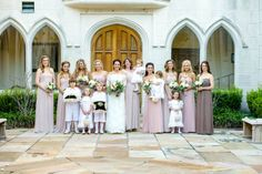 Mary Margaret & Aaron Tied the Knot http://www.tyingtheknotweddingcoordination.com/blog/ #bridesmaids #weddings #neutral