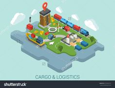 http://image.shutterstock.com/z/stock-vector-flat-d-isometric-cargo-delivery-logistics-shipping-business-infographic-concept-vector-container-229362019.jpg