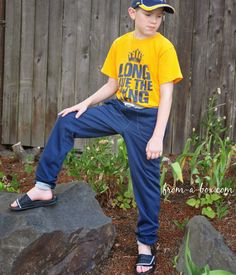 Lazy Days Lounge Pants Pattern by Gracious Threads Stitched by Stacey... www.from-a-box.com