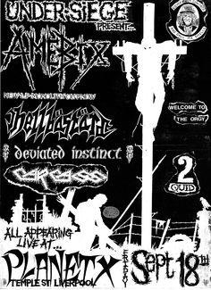 Amebix / Carcass Sept 1987