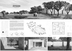 Architecture Portfolio Template, Architecture Concept Diagram, Architecture Board, Architecture Design, Interior Design Presentation, Architecture Presentation Board, Presentation Layout, Planning School, Urban Design Diagram