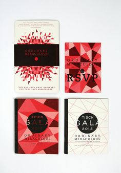 NYU Gala Invitation - Beautiful Print & Design | ADOmedia Creative Inspiration | Scoop.it