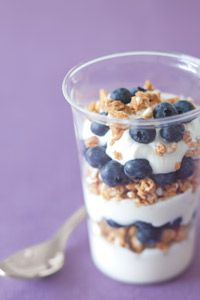 Healthy Blueberry Yogurt Parfait