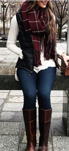 winter outfits casual 67 Cute Fall Outfits That Wi - winteroutfits Winter Outfits For Teen Girls, Winter Outfits 2019, Winter Outfits For Work, Cute Fall Outfits, Winter Outfits Women, Fall Fashion Trends, Winter Fashion Outfits, Look Fashion, Autumn Winter Fashion