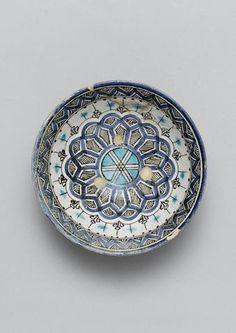 A Timurid underglaze painted pottery Bowl Persia, 15th Century