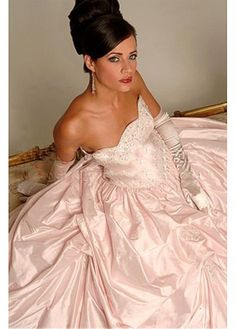 Charming Strapless Sleeve Sleeveless Natural Full Length Ball Gown Cathedral Wedding Dresses