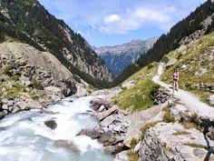 Triftbrücke – Wanderhighlight im Gadmertal – Linas Travelblog Outdoor, Mountain Range, Communities Unit, River, Explore, Hiking, Outdoors, Outdoor Games