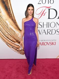 Alessandra Ambrosio in Michael Kors Collection - 2016 CFDA Fashion Awards - June 6, 2016