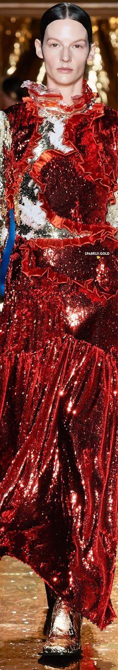 Preen by Thornton Bregazzi Fall 2020 RTW Funky Fashion, Autumn Fashion, Thornton Bregazzi, Just Be Happy, Red Garnet, Fashion Brands, Runway, Rainbow, Bright