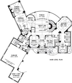 homes on pinterest house plans media rooms and floor plans traditional style house plans 2398 square foot home 1