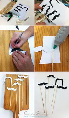 Moustache pour photobooth