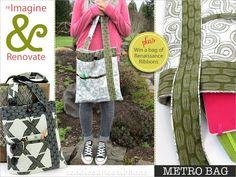 Re-imagine & Renovate: Renaissance Ribbons' Metro Bag (and Giveaway) | Sew4Home