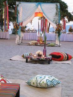 Wedding inspiration: Bohemian Weddings; #reception