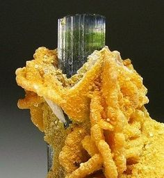 Elbaite with cookeite. Origin: Stak Nala, Pakistan
