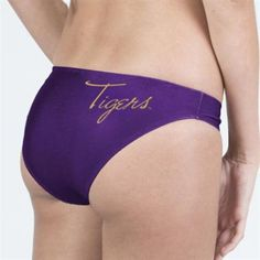 Where can you find a LSU woman's bathing suit?