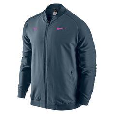 529e89ef026f Nike Premier Rafa Nadal Tennis Jacket Mens M Squadron Blue  Nike  Jacket  Rafael Nadal
