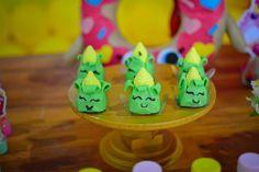Festa shopkins decoração e doces