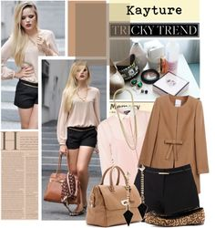 """""""Kayture ~"""" by shymerr-sam-ie ❤ liked on Polyvore"""