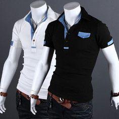 Men Short Sleeve Polo Shirt