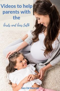 Birds and bees talk videos for families that will help to make talking to children (both boys and girls), much easier for parents. Oh, they are short too! Parenting Goals, Parenting Humor, Kids And Parenting, Parenting Hacks, Baby Family, Family Life, Thing 1, Educational Videos, Best Mom
