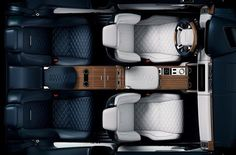 Land Rover reveals interior of new two-door Range Rover SV Coupé set to debut at the 2018 Geneva motor show in March. Production limited to 999 units