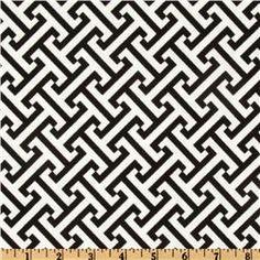 curtain fabric | waverly cross section licorice | fabric.com $14/yard