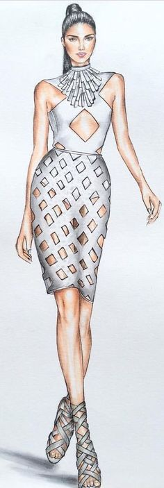 Niki Kinney Fashion Illustration