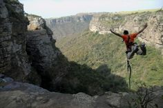 Gorge Swing South Africa - Gorge Swinging is another great South African outdoor adventure activity. The Gorge swing is stable enough to be enjoyed by young and old alike. Experience something new today.